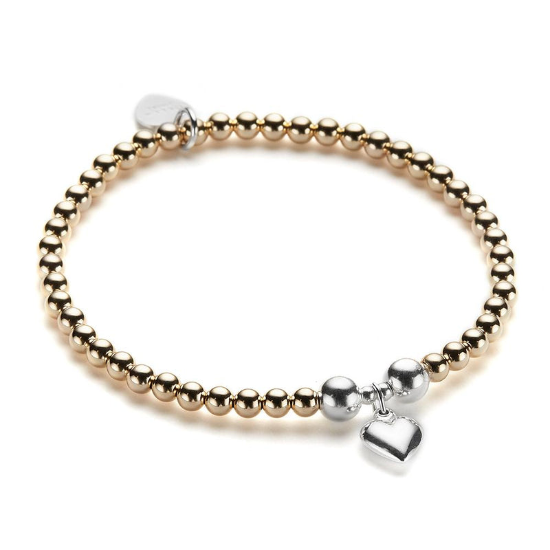Gold Small Heart Bracelet