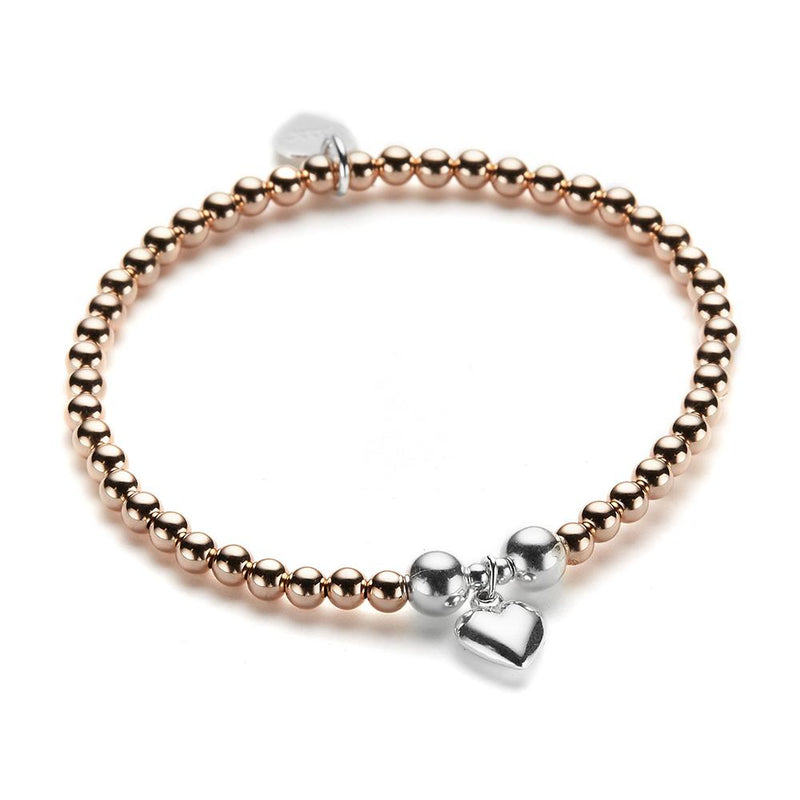 Rose Gold Small Heart Bracelet