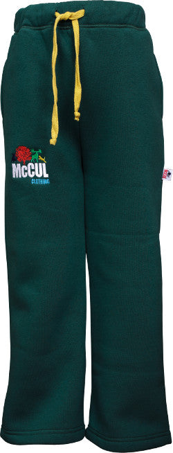 Boys Bottle Fleece Jog Pants with McCul Embroidery