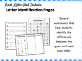 Letter X - Preschool Letter of the Week Unit