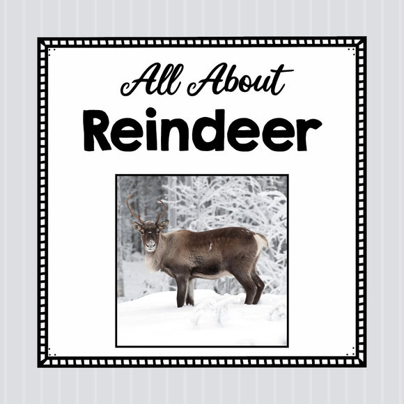 All About Reindeer- Animal Science