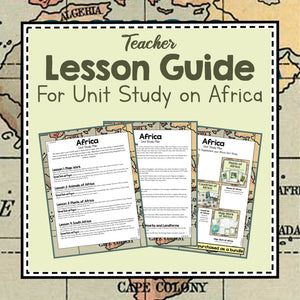 Africa Unit Study Lesson Plan