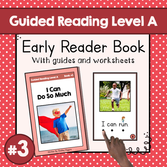 Early Reader Booklet Level A: #3