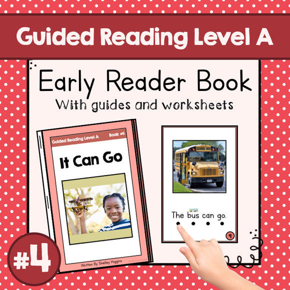 Early Reader Booklet Level A: #4