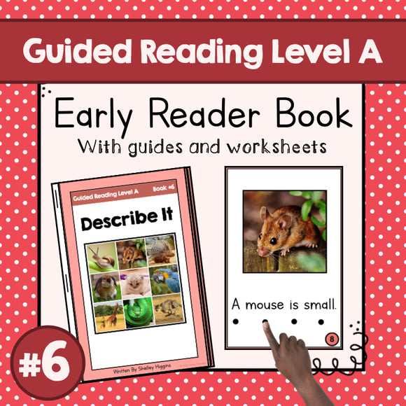 Early Reader Booklet Level A: #6