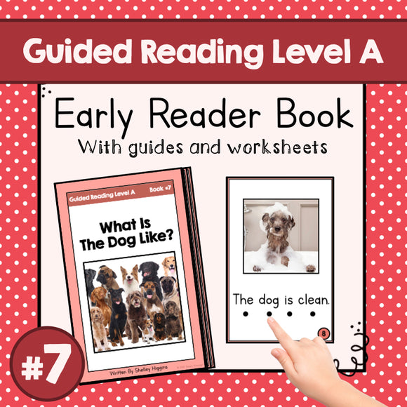 Early Reader Booklet Level A: #7