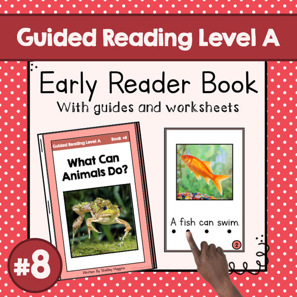 Early Reader Booklet Level A: #8