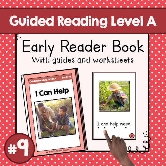 Early Reader Booklet Level A: #9