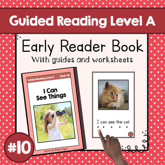 Early Reader Booklet Level A: #10