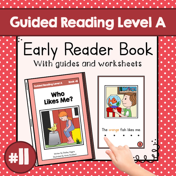 Early Reader Booklet Level A: #11