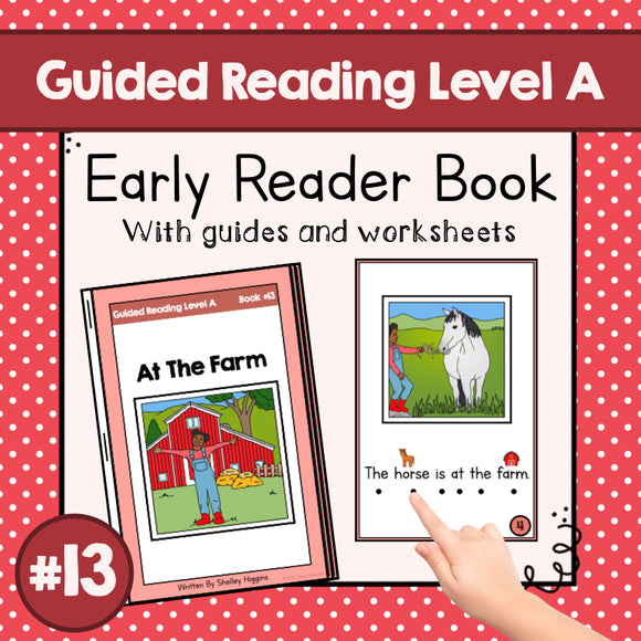 Early Reader Booklet Level A: #13