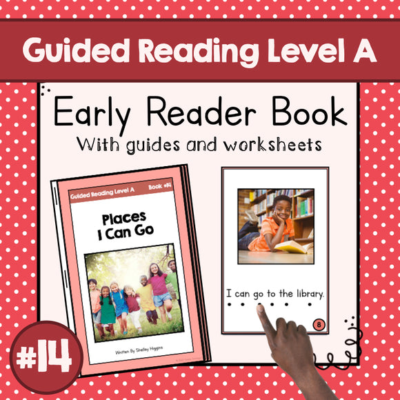 Early Reader Booklet Level A: #14