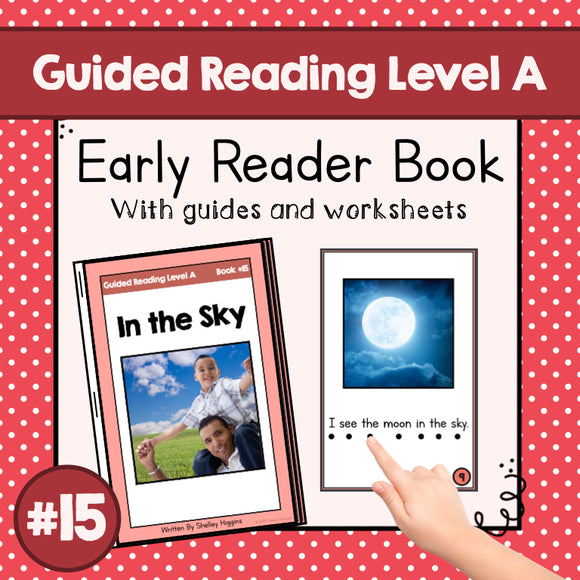 Early Reader Booklet Level A: #15