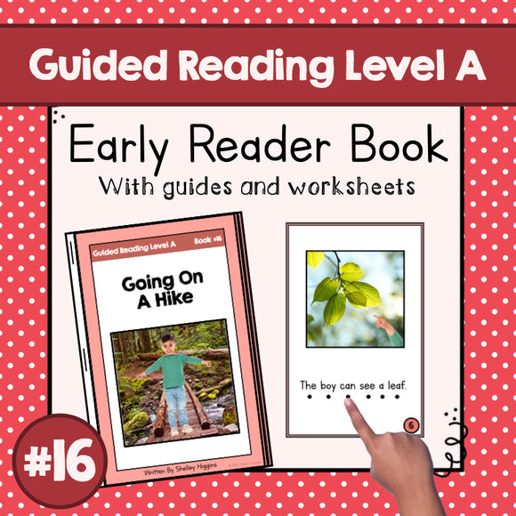 Early Reader Booklet Level A: #16