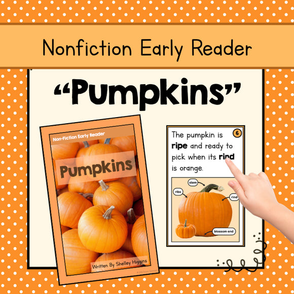 Nonfiction Early Reader Booklet