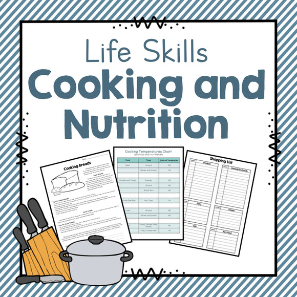 Life Skills Unit: Nutrition and Cooking