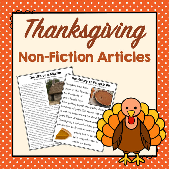 Thanksgiving Nonfiction Articles