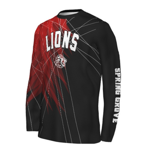 SG Lions Basketball Warmup Performance Tee