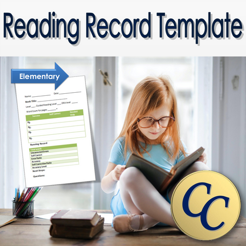 Reading Record Template