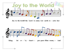 Load image into Gallery viewer, Christmas Hymns for Xylophone or Beginner Piano