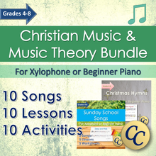 Load image into Gallery viewer, Christian Music Lessons Homeschool Curriculum