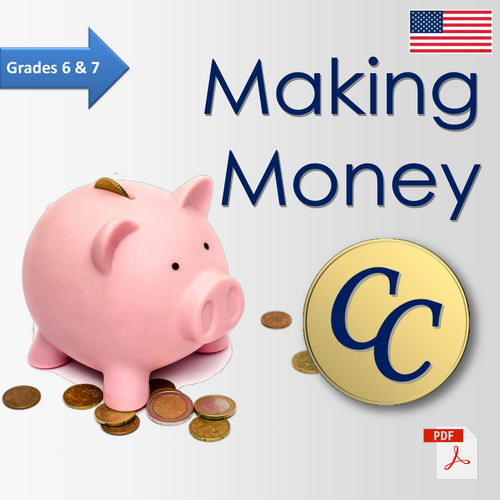 Grade 6 Grade 7 Financial Literacy Making Money