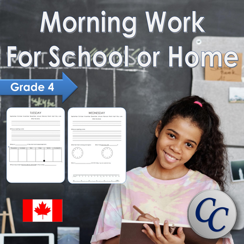 Grade 4 Morning Work 4th Grade