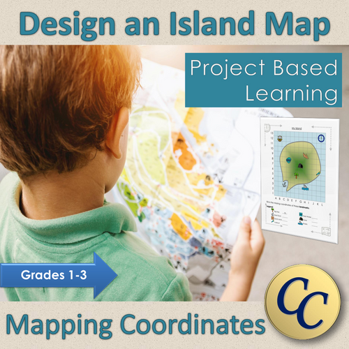 Best Easy Peasy Christian Homeschool Distance Learning Grade 1 Grade 2 Grade 3 Island Map Coordinates Geography Project Based