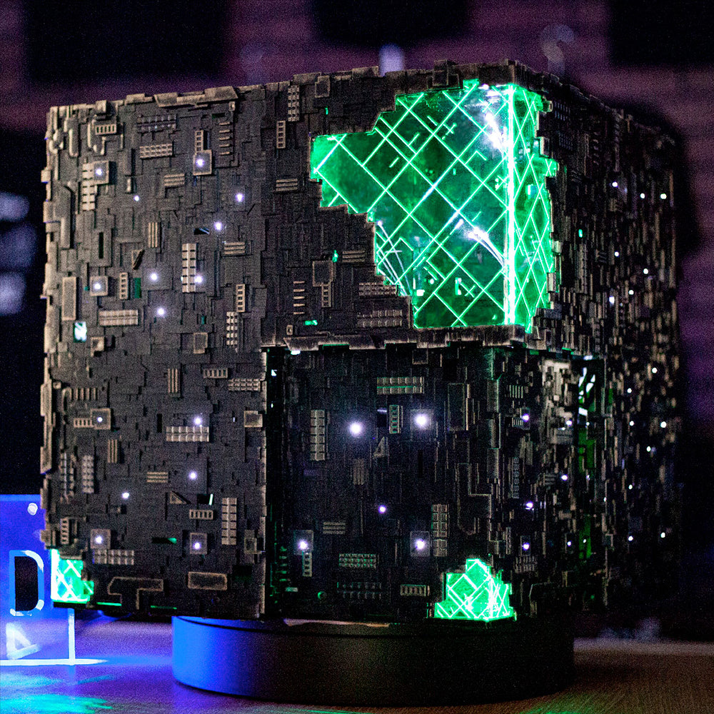 Star Trek: Picard 1st Anniversary Borg Cube ATX | Borg Cube Computers and Cases by CherryTree Inc.