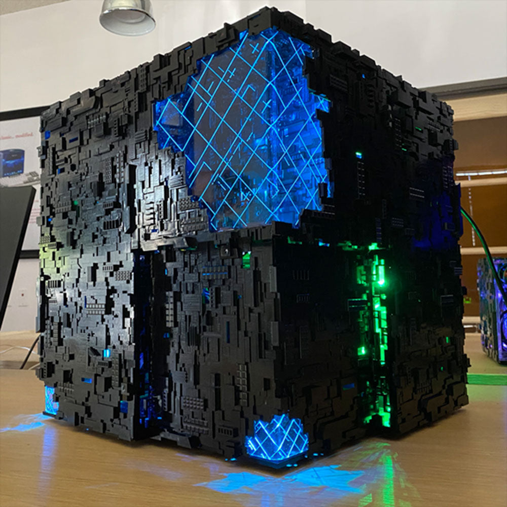 Star Trek Artifact Borg Cube ATX | Borg Cube Computers and Cases by CherryTree Inc.