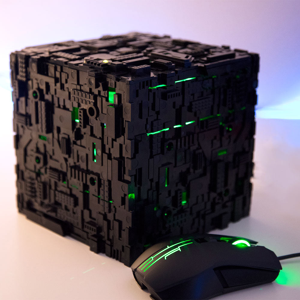 Star Trek Borg Micro Cube in Black color option | Borg Cube Computers and Cases by CherryTree Inc.