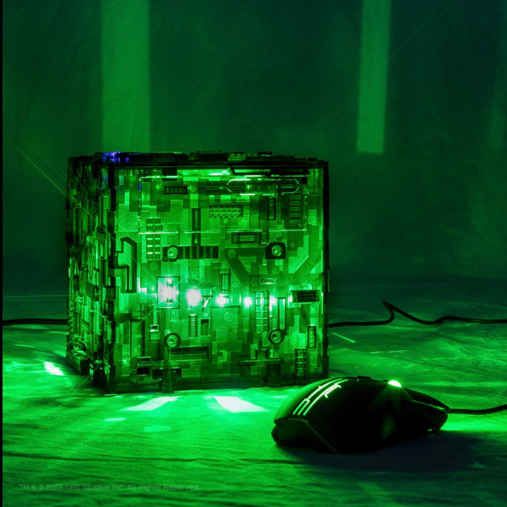Star Trek Borg Micro Cube Pentium in Translucent color option | Borg Cube Computers and Cases