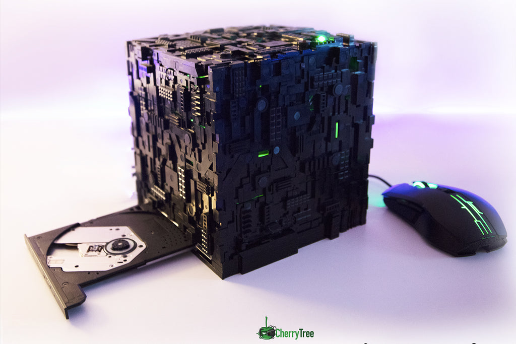 Star Trek Borg Micro Cube with Optical Drive | Borg Cube Computers and Cases