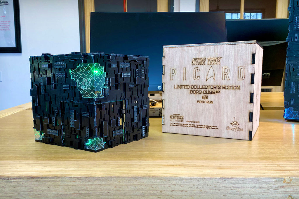 Star Trek: Picard Borg Cube ITX with Premium Crate | Borg Cube Computers and Cases by CherryTree Inc.