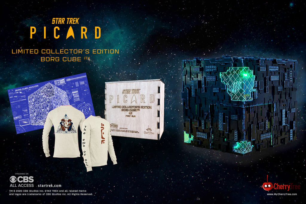 Star Trek: Picard Borg Cube ITX Limited Collector's Edition Set | Borg Cube Computers and Cases by CherryTree Inc.