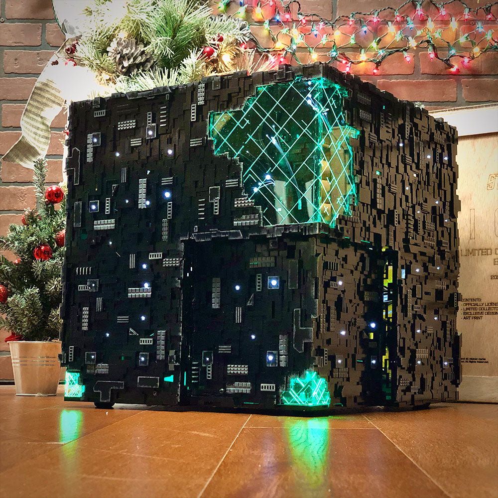 Star Trek: Picard Santa-Borg ATX | Borg Cube Computers and Cases by CherryTree Inc.