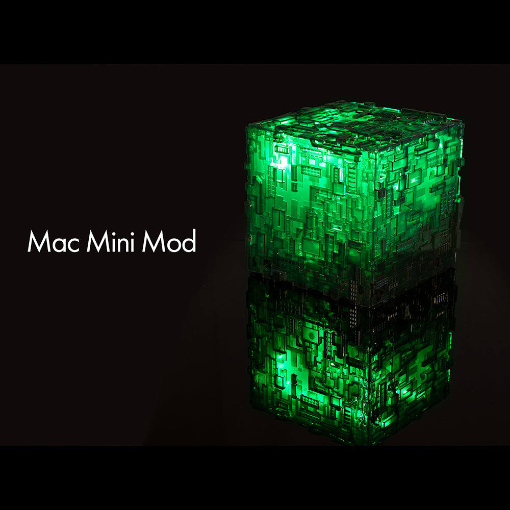 I, Borg Cube | Mac mini Mod | Borg Cube Computers and Cases