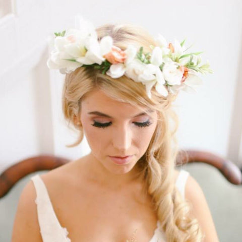The most romantic wedding hair for 2018