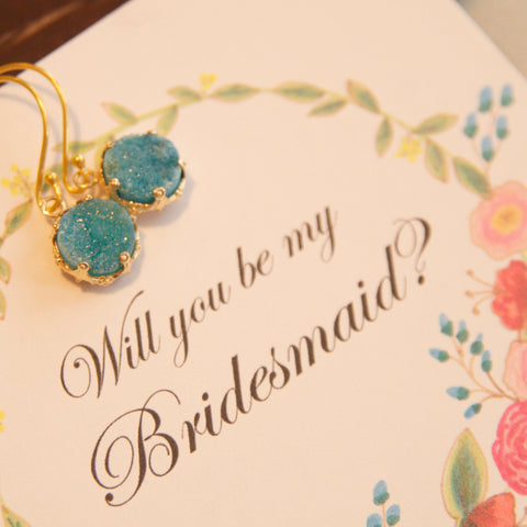 druze bridesmaid jewelry