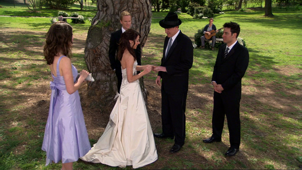 how i met your mother wedding scene