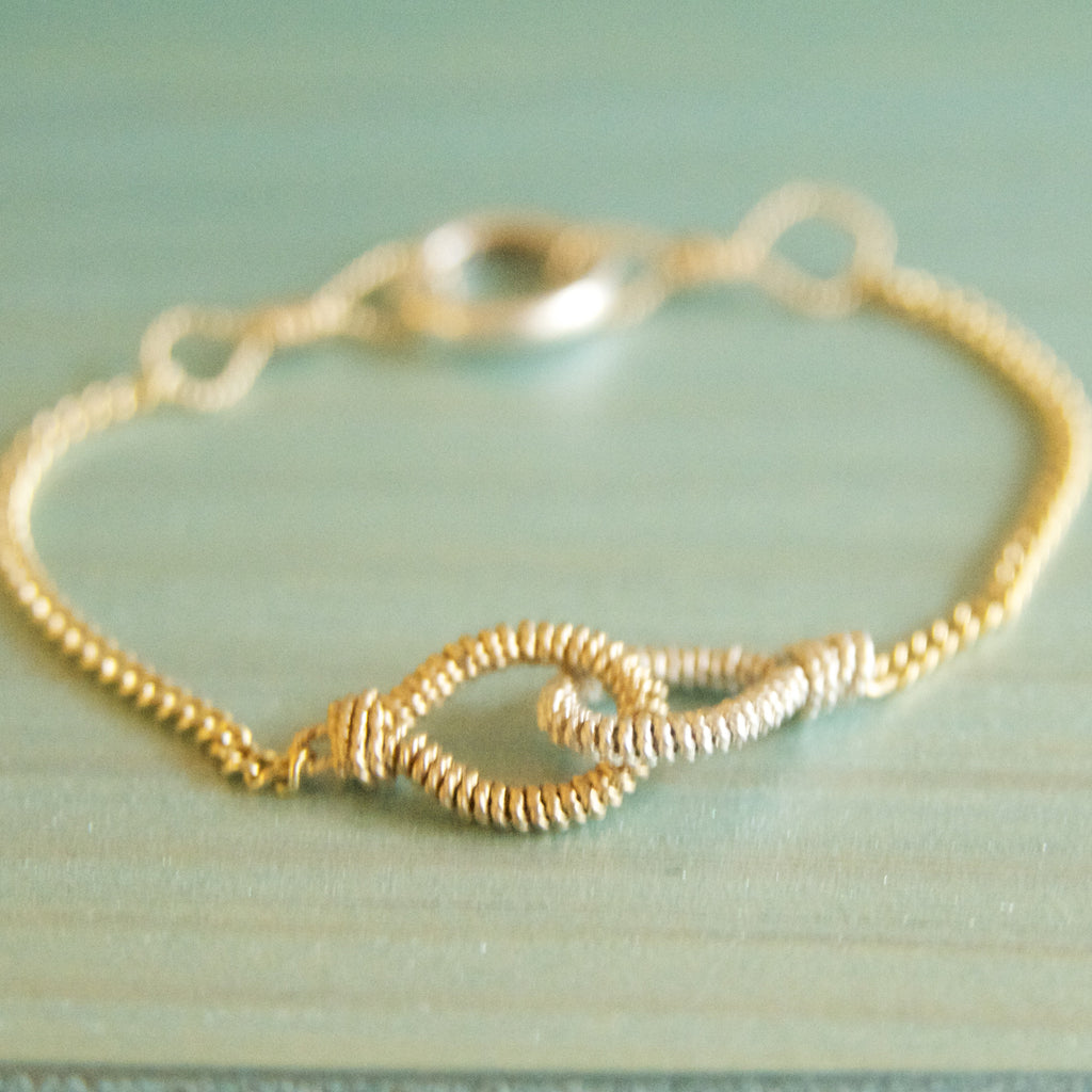 Love Link Bracelets for Bridesmaids