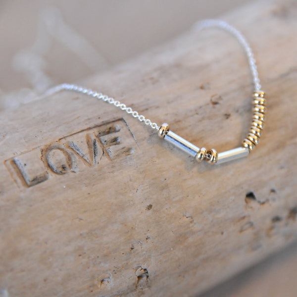 A Morse Code Necklace Moment