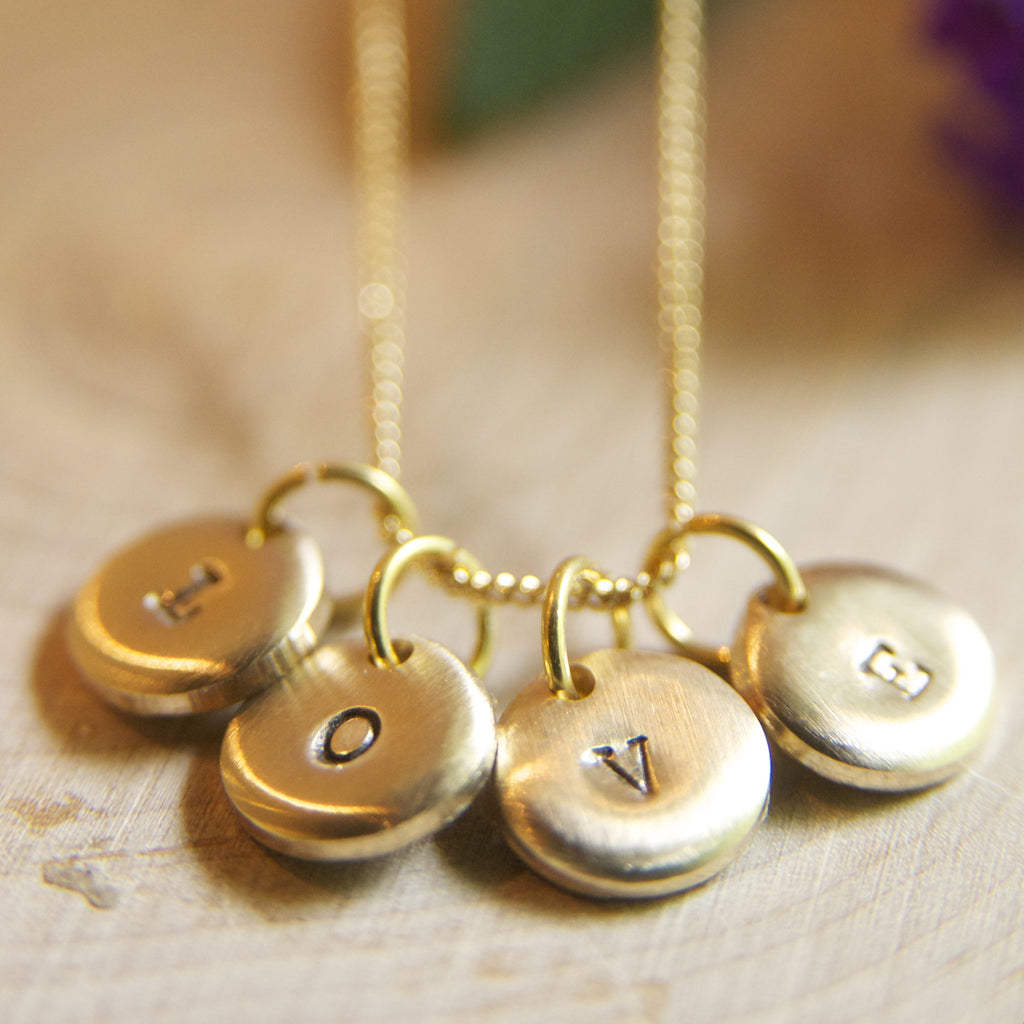 Mothers Dainty Initial Jewelry/The Perfect Gift for Moms/Moms to Be