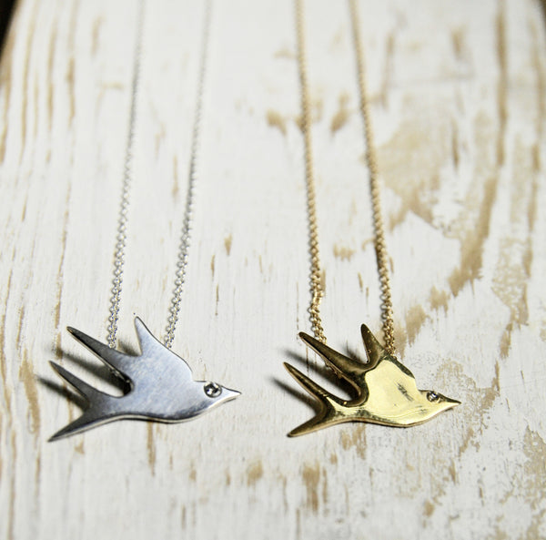 The Sparrow Necklace