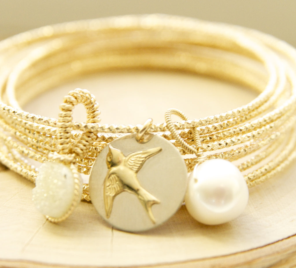 The Ultimate Charm Pearl Bracelet