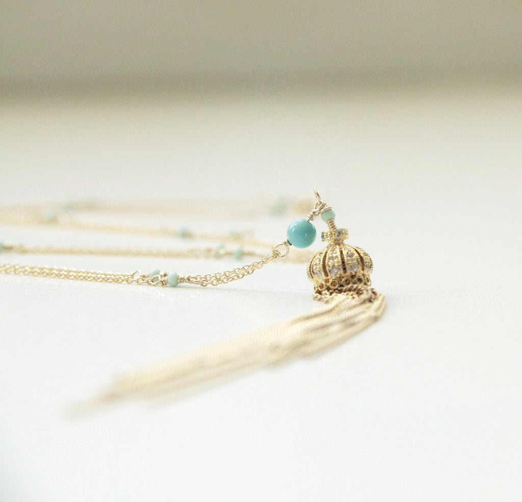 Dainty Tassel Necklace