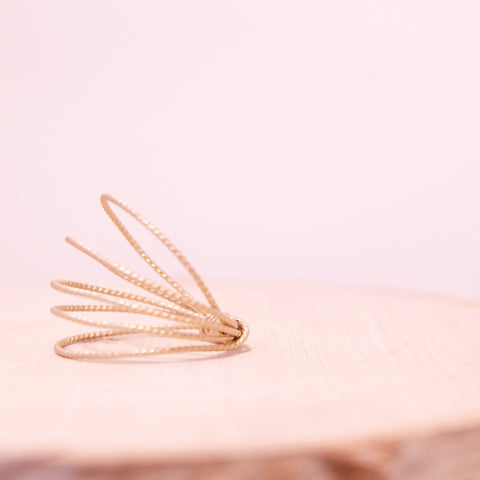 Dainty Wire Wrap Stacking Rings