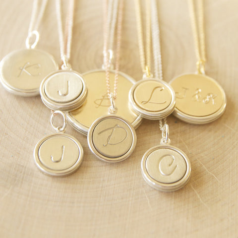 Mothers Day keepsake pendant collection from bare and me