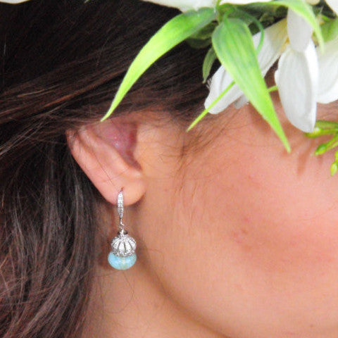 The Perfect Mint Bridal Earring