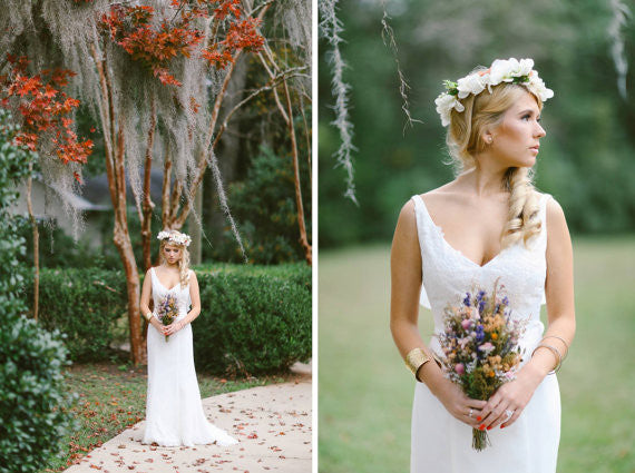 Garden Wedding Floral Head-Crown